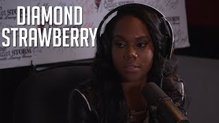 Diamond Strawberry Talks Daughter/ Dog Reference + Says NOTHING HAPPENED with Rich Dollaz