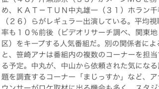 笹崎里菜アナが初レギュラー 日曜朝「シューイチ」 ホステスのアルバイ...