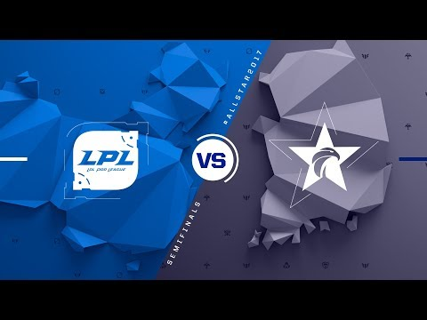 CN vs. KR   Semifinals Game 2   2017 All-Star Event   China vs. Korea
