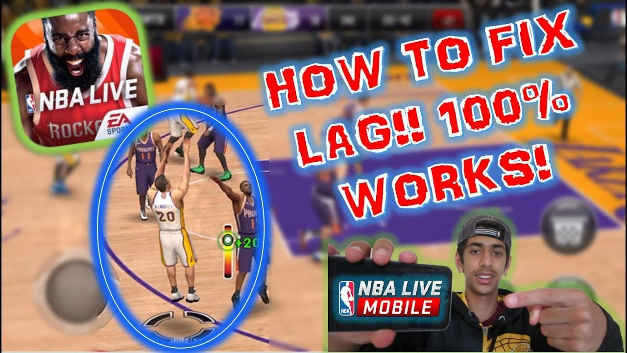 nba live mobile crashing ios 10