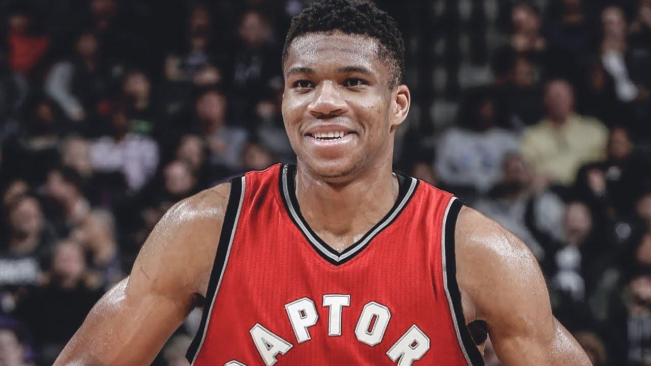 Giannis Antetokounmpo on the Toronto Raptors in 2021 - YouTube