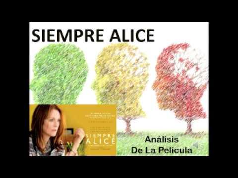 Psicopatología Y Contextos Análisis Película Siempre Alice Youtube
