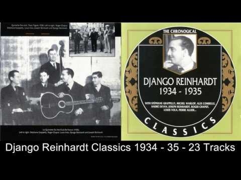 Django Reinhardt Chronological Classics 1934 - 1935 - 23 tracks