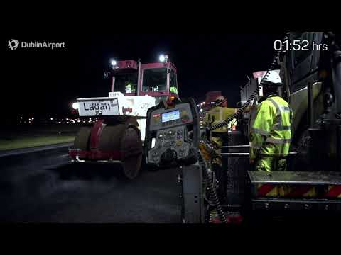 Resurfacing Dublin Airport's Runway