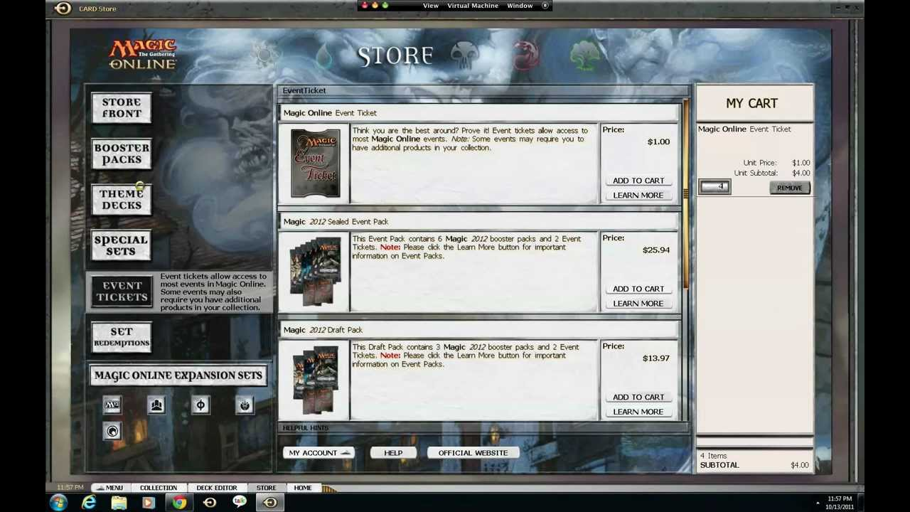 Magic the Gathering Online Beginners Guide : Tutorial ...
