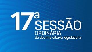 17ª Sessão Ordinária da Décima Oitava Legislatura - TV CÂMARA ITANHAÉM