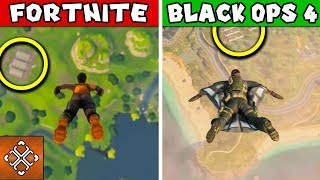 6 Differences Between Fortnite and Call of Duty Battle Royale