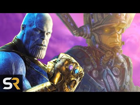 Marvel Theory: Galactus Was Thanos's Insurance Policy
