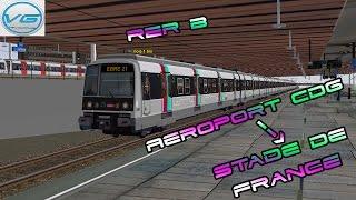 [FR] [HD] MSTS | RER B : Aeroport CDG -- Robinson #1