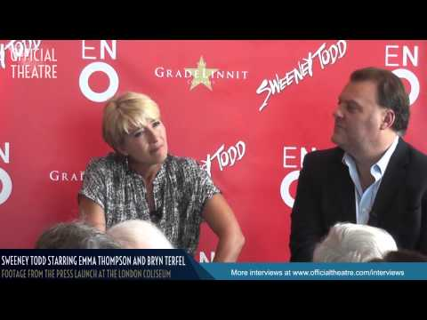Sweeney Todd Interview: Emma Thompson Bryn Terfel