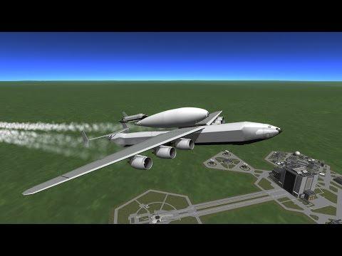 KSP MAKS reusable launch system