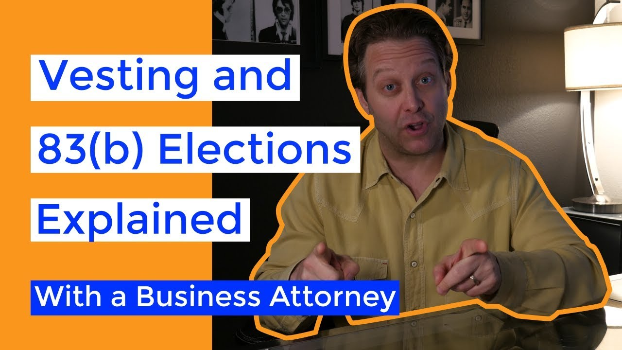 83b Elections And Founder Equity Vesting Demystified A Startup