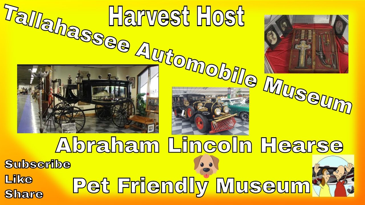 Harvest Host Tallahassee Automobile Museum - Abraham Lincoln Hearse