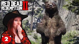HUNTING A LEGENDARY BEAR!!! - Red Dead Redemption 2 Walkthrough Gameplay Part 2
