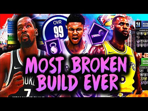 OFFICIAL DEMI-GOD NBA 2K22 NEXT GEN! BUILD BEST BUILD in NBA 2K22!