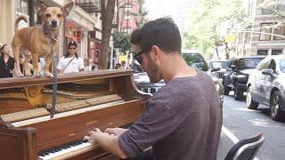 G minor Piano Improvisation on a Street Piano in NYC by Dota...