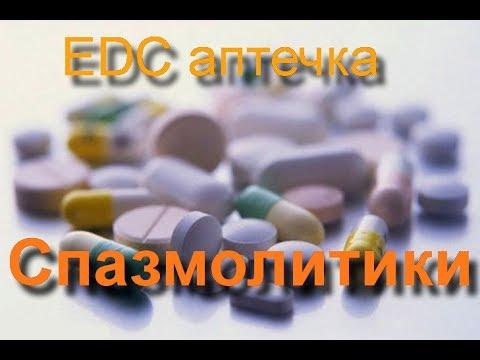 EDC аптечка: спазмолитики