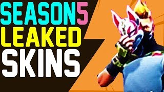 Fortnite SEASON 5 SKINS LEAKED via XBOX DASHBOARD NEW MASK NEW VIKING SKIN NEW ARMY SKIN