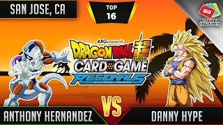 Dragon Ball Super Card Game Gameplay [DBS TCG] San Jose Regional Top 16