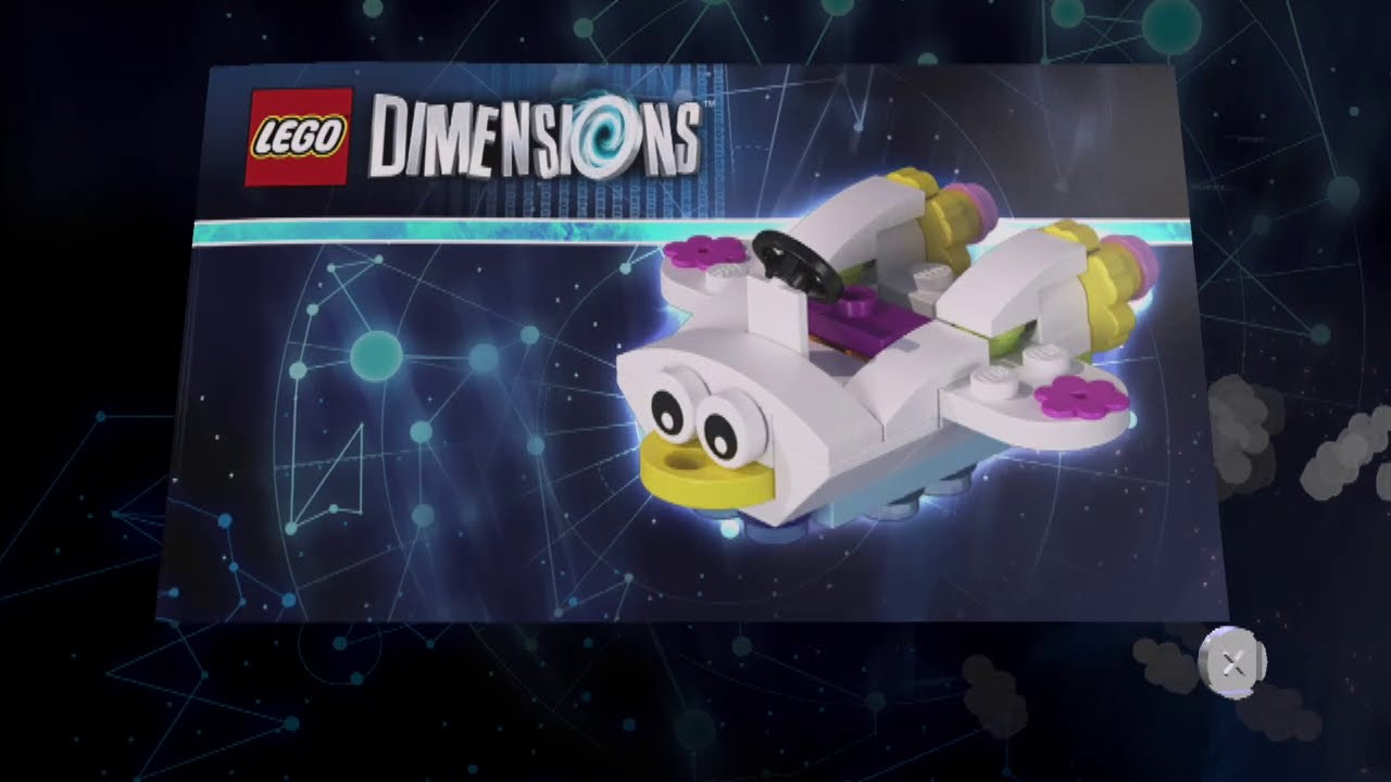 Lego Dimensions Cloud Cuckoo Car Build Instructions ...