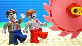 Lego Zombie Crane Parkour Fail
