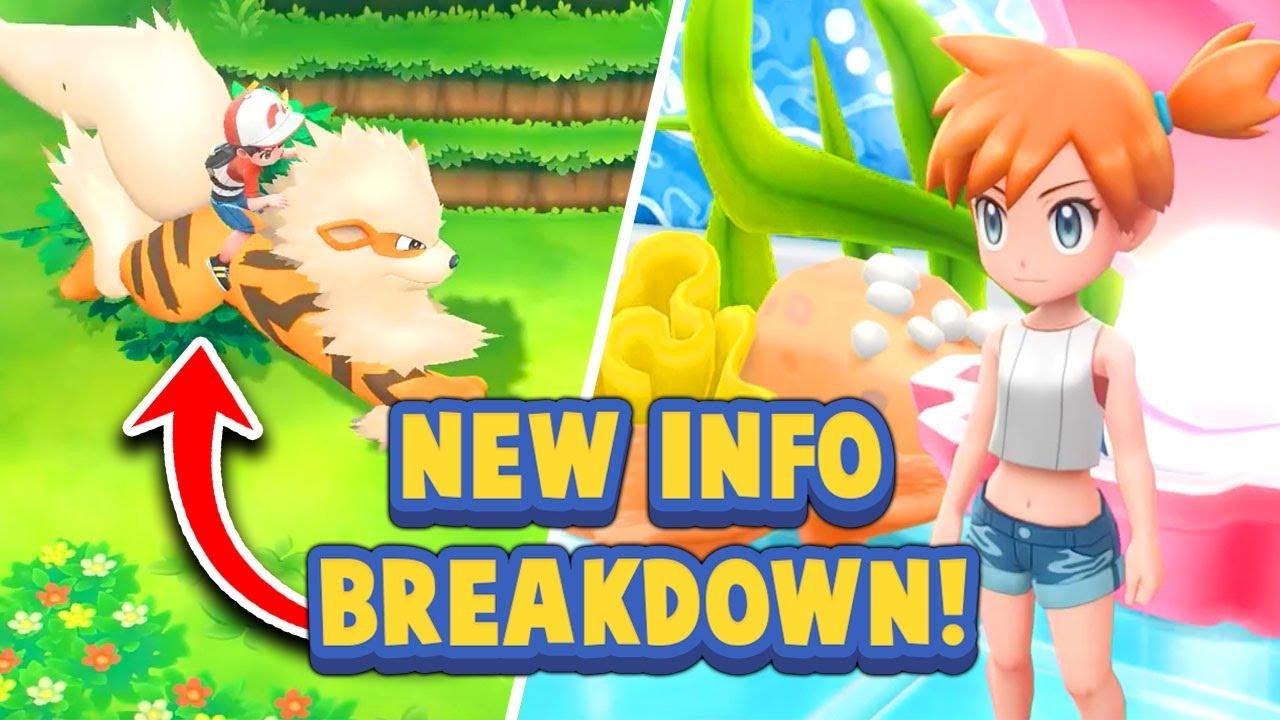 Trainer Customization, NEW Ride Pokémon & More! - Pokémon Let's Go Pikachu & Eevee News