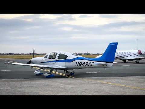 Flight Vlog | Exploring France In A Cirrus SR22T | ATC Audio
