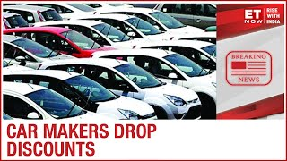 Car discounts during the festive season have dropped by 15-50% vs discounts last year