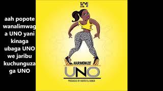 Harmonize UNO lyrics