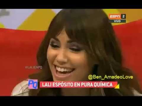 Lali cuenta una anécdota con Benja Amadeo en PuraQuimica