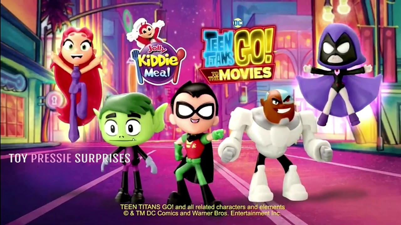 Teen titans commercials with