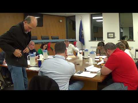 11 28 17 Morrisville Borough Special Budget Meeting 1 of 4