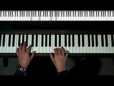 Not Too Hard Fun Piano Lesson Intermediate Blues Lick For C7 F7