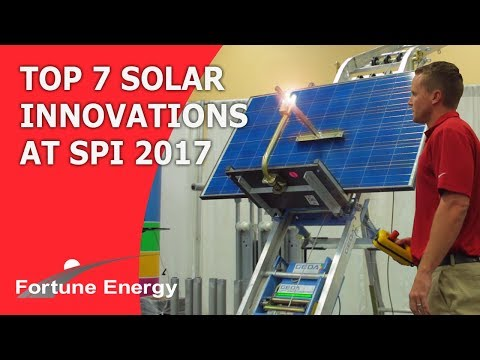 Top 7 Solar Innovations of 2017 at SPI [Solar Power Internat