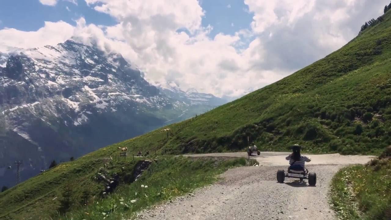 switzerland grindelwald first mountain carts youtube. Black Bedroom Furniture Sets. Home Design Ideas