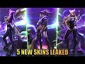 NEW AKALI, AHRI, KAI'SA, EVELYNN, JANNA K/DA/POPSTAR/HALLOWEEN Skins Leaked - League of Legends