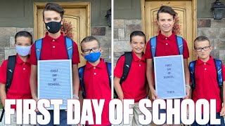 FIRST DAY OF SCHOOL 2020 | GOING BACK TO SCHOOL FOR THE FIRST TIME IN FIVE MONTHS