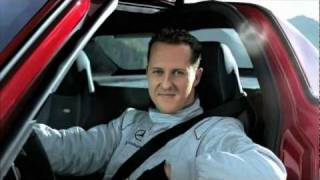 Michael Schumacher in the SLS AMG tunnel experiment (long-version) | Ridgeway Mercedes-Benz