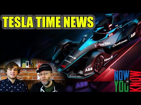 Tesla Time News - Next Gen Formula E!