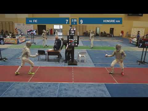 Semi-finals. HUNGARY - FIE.