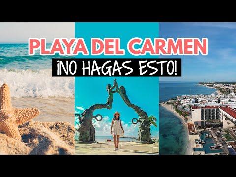Errores al visitar Playa Del Carmen