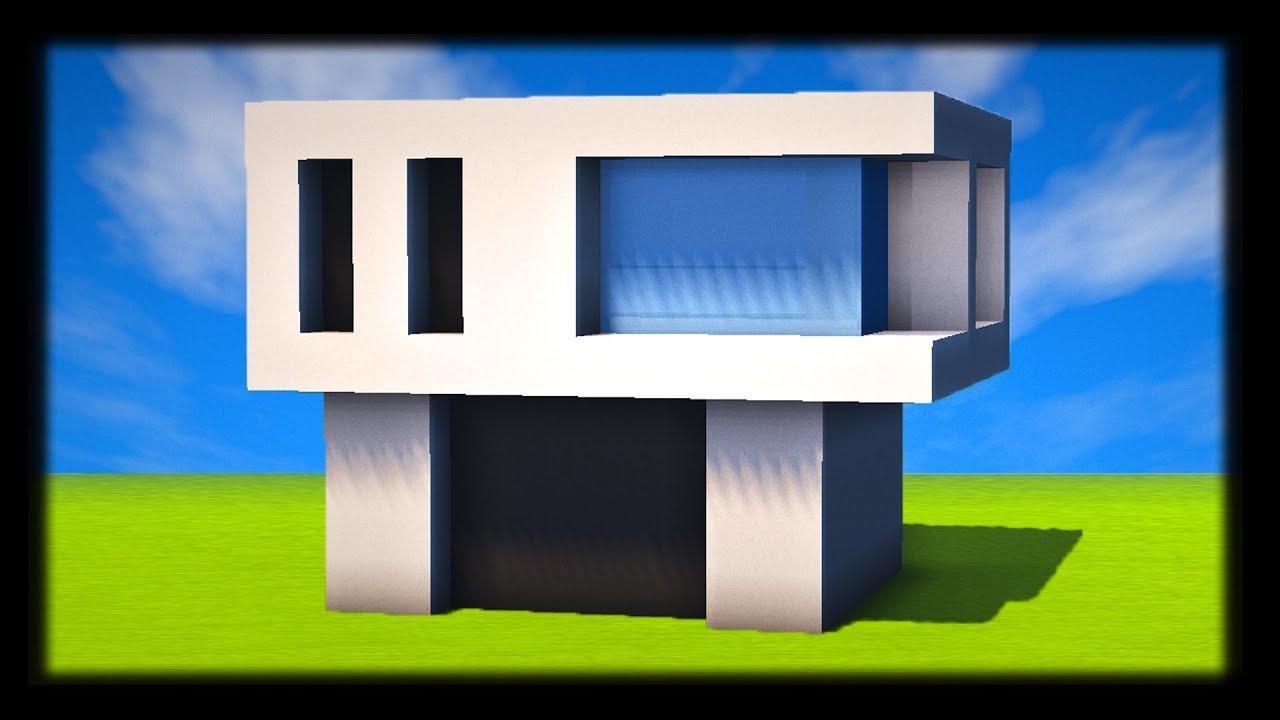comment construire une maison moderne tuto build minecraft