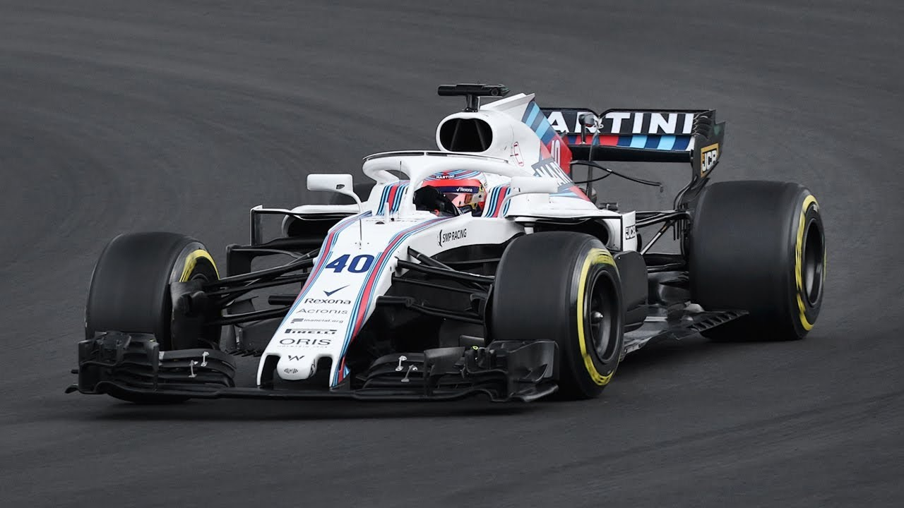 Robert kubica driving the williams fw41 during the f1 2018 for Kubica cars