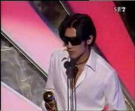 Anggun at World Music Awards 2002