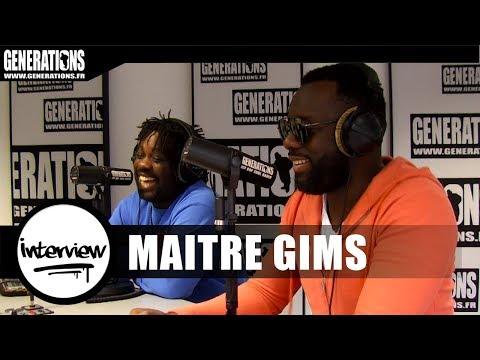 """Maitre Gims - Interview  """"Ceinture Noire """" (Le streaming, Dadju, et La Sexion d'Assaut)"""