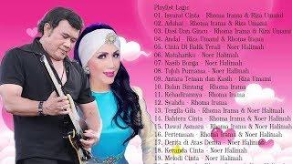 Gambar cover Top 20 Lagu Cinta Rhoma Irama Noer Halimah Vs Riza Umami