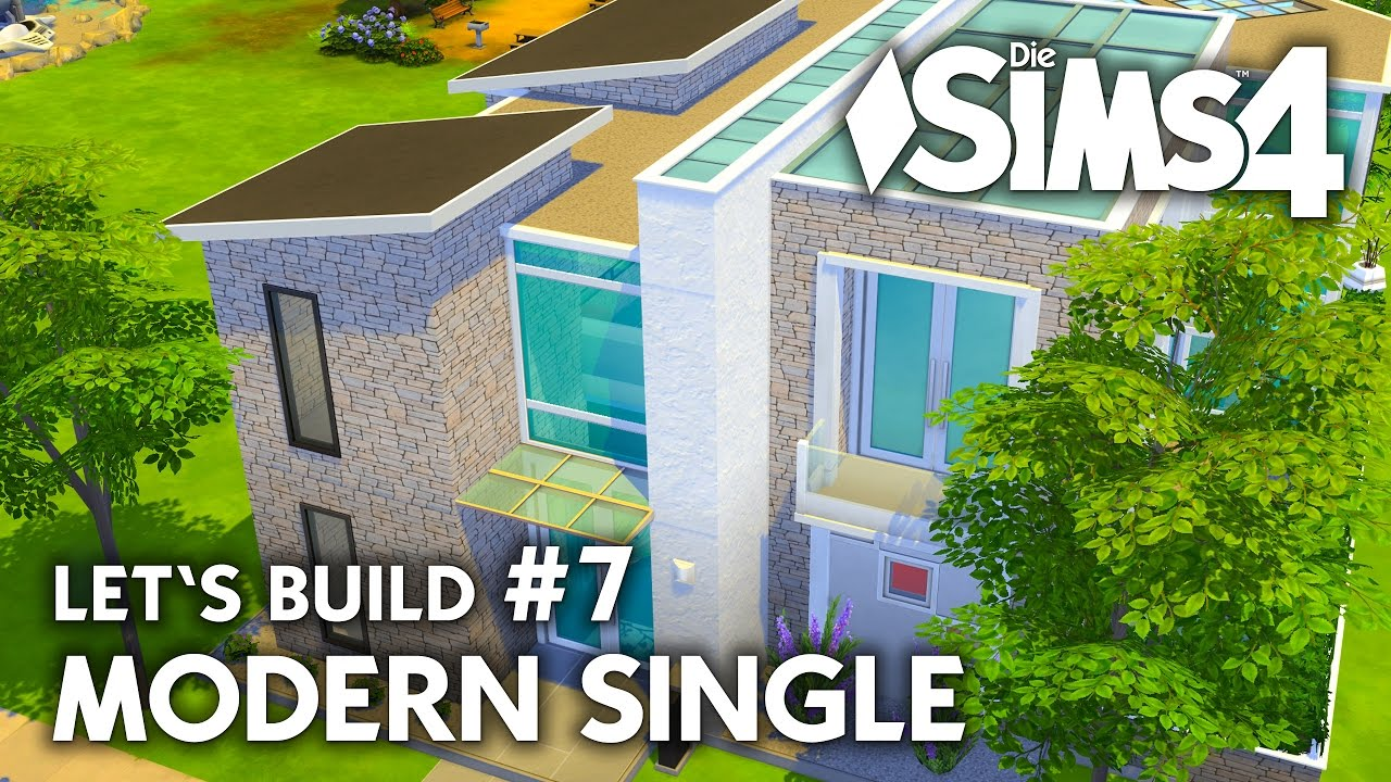 Die Sims 4 Haus Bauen | Modern Single #7   Letu0027s Build (deutsch)   YouTube