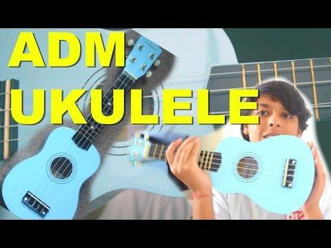 ADM SOPANO BLUE UKULELE UNBOXING   MUSIC