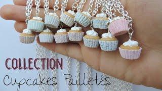 Collection - Cupcakes Pailletés - FIMO
