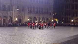 Jazz Fanfare- Bruxelles Grand Place/ Grote Markt van Brussel